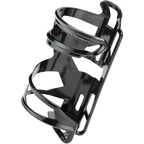Elite Prism Bottle Holder Right Carbon, glossy black/white design